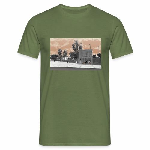 Arquitectura cambiada de lugar - Camiseta hombre