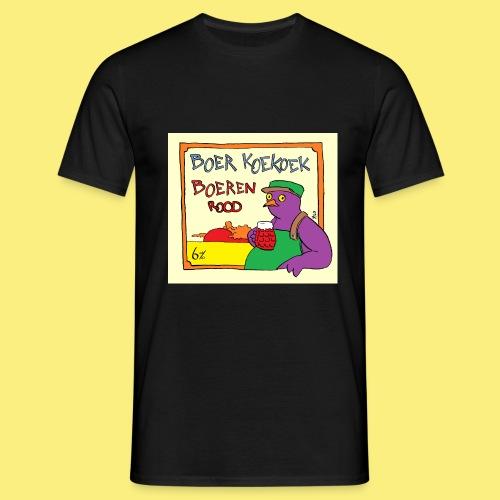 Boeren Rood - Mannen T-shirt