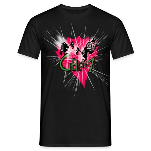 Geier-1 Stars - Männer T-Shirt