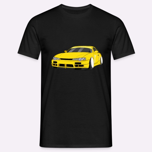 "Voiture jaune drift ""Stance"" - T-shirt Homme"