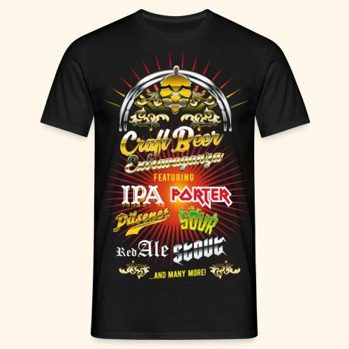 Bier-Shirt Craft Beer Extravaganza - Männer T-Shirt