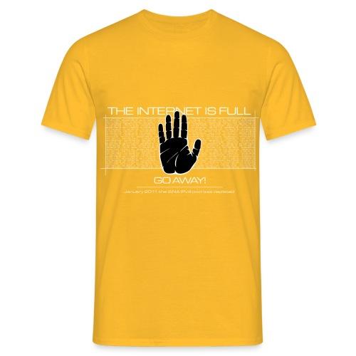 handa gimp depleted png - Men's T-Shirt