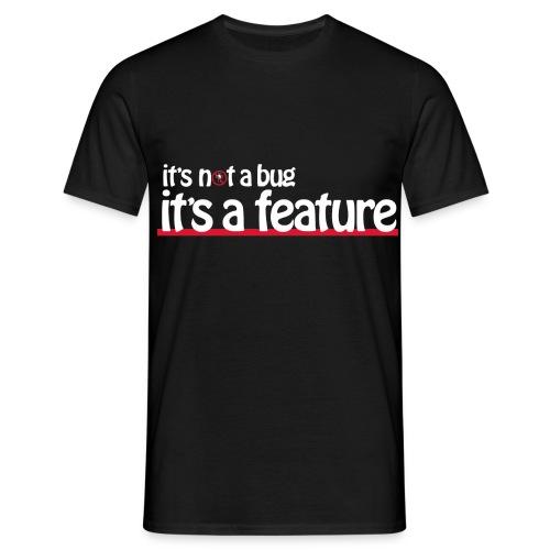bug feature3light - Men's T-Shirt