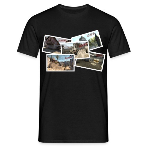 DE TOURIST png - Men's T-Shirt
