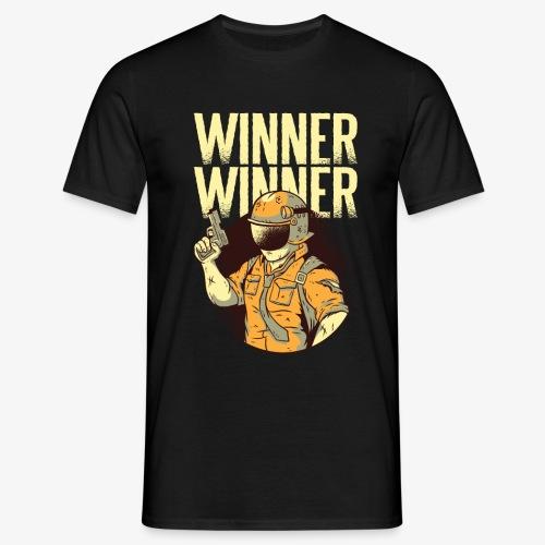 Winner Winner Gaming Gamer - Men's T-Shirt