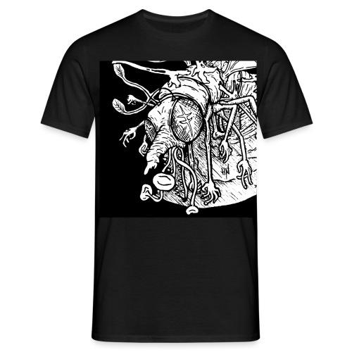 Nine Legged Shaaaaanf - Men's T-Shirt