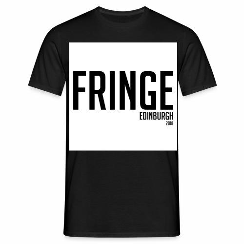 Fringe 2018 Black on White - Men's T-Shirt