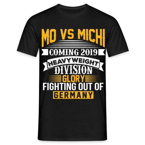 Mohamed vs Michi Shirt - Männer T-Shirt
