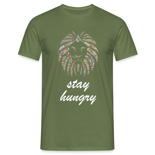 Stay Hungry T-shirt and accessoires - Maglietta da uomo