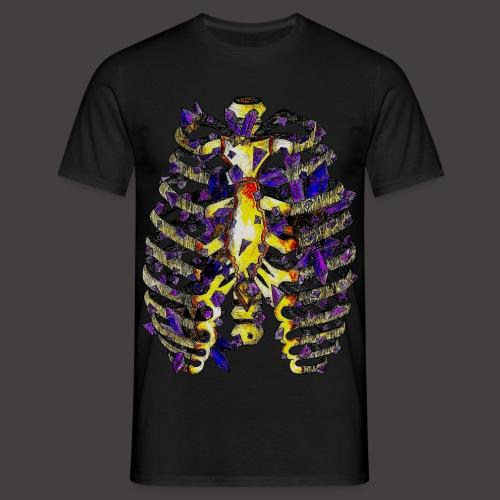 La Cage Thoracique de Cristal Creepy - T-shirt Homme