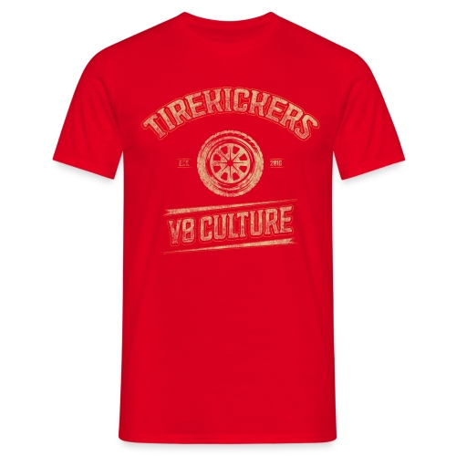 Tirekickers – Vintage Tire - Männer T-Shirt