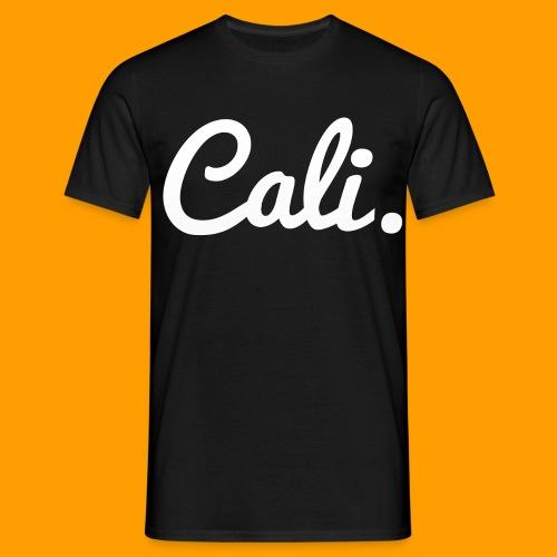 Cali s Logo Weiss - Männer T-Shirt