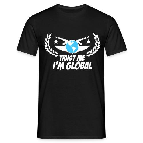 17970 2CIM Global white - Men's T-Shirt
