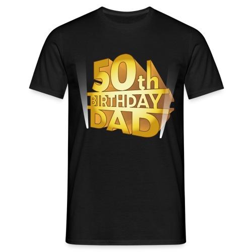 50th Dad - Maglietta da uomo