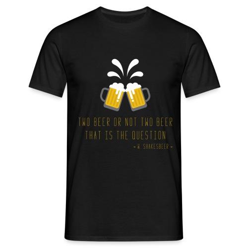 Two beer - Men's T-Shirt