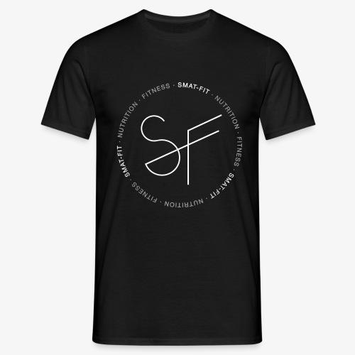 SMAT FIT FITNESS & NUTRITION BLACK HOMME - Camiseta hombre