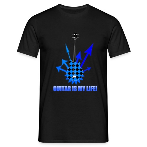guitar - Koszulka męska