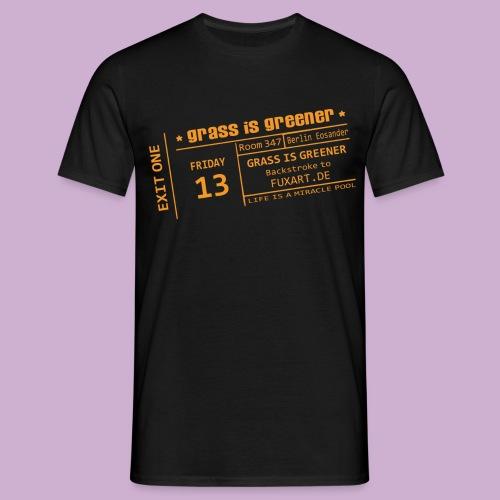 grass is greener - Männer T-Shirt
