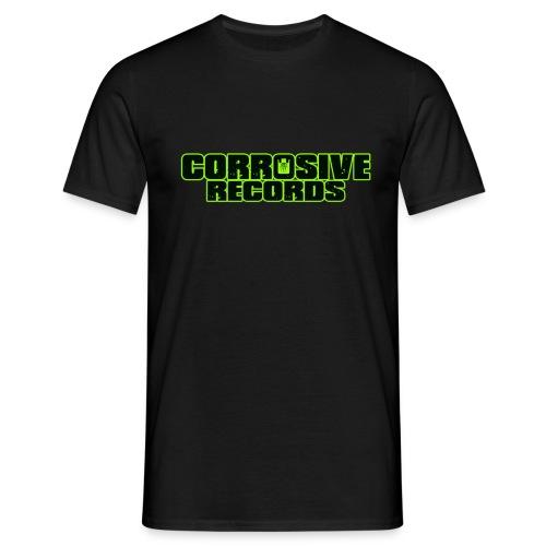 corrosive recordsgreen - Men's T-Shirt
