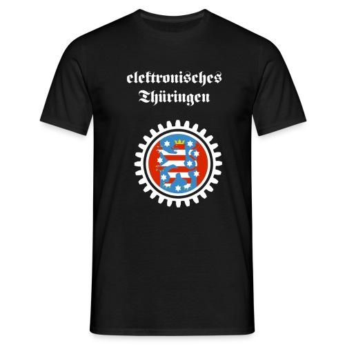 Elektronisches Thüringen - Männer T-Shirt
