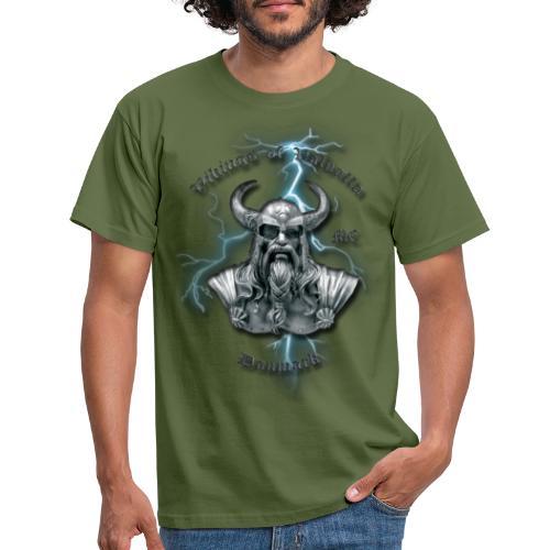 Fuld ryg lyn png - Herre-T-shirt
