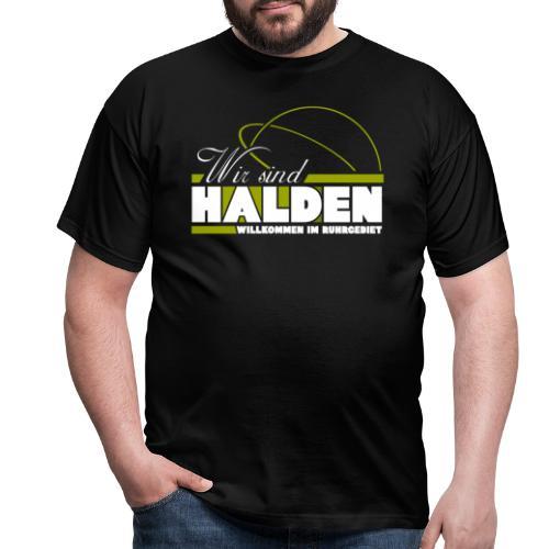 Wir Sind Halden - Männer T-Shirt