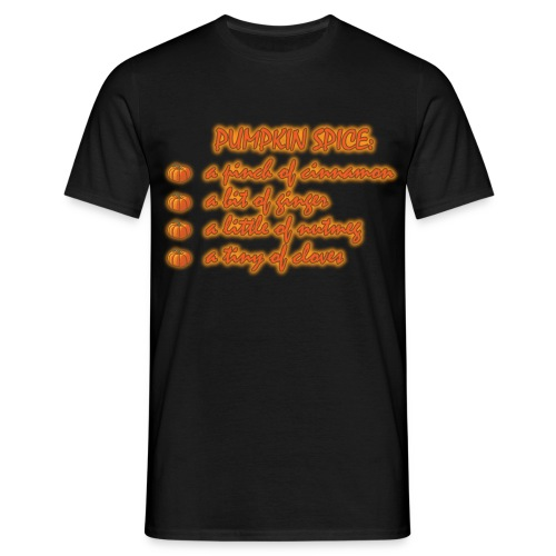 PumpkinSpiceRecipe - Maglietta da uomo