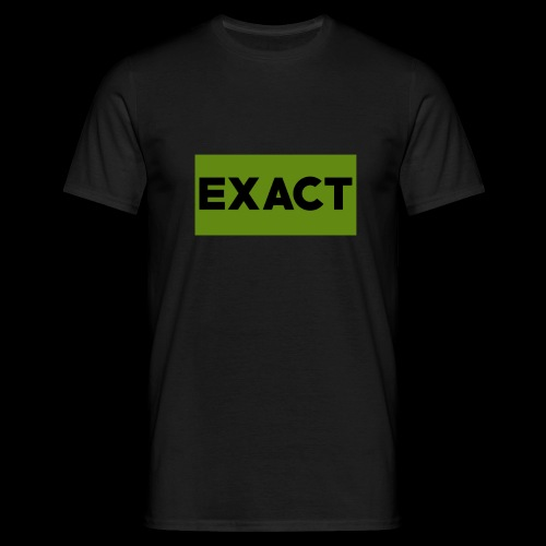 Exact Classic Green Logo - Men's T-Shirt