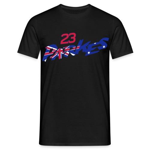 Parkes 23 Logo Refix - Men's T-Shirt