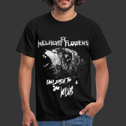 unleash the wolves - Men's T-Shirt