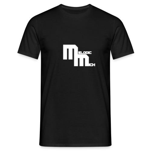 mm tekst - Mannen T-shirt