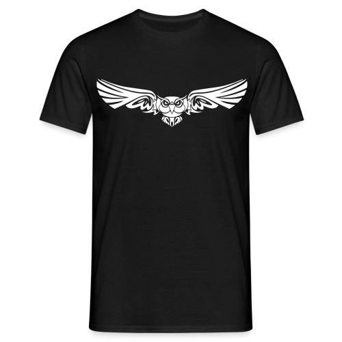 Eulen Flug - Männer T-Shirt