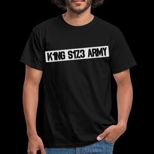 ksa logo weiß - Männer T-Shirt