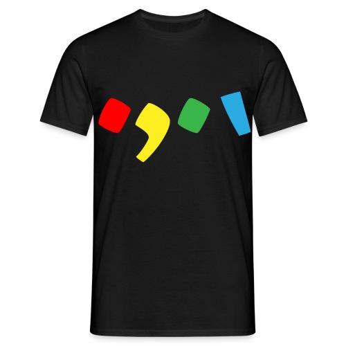 Tjien Logo Design - Accents - Mannen T-shirt