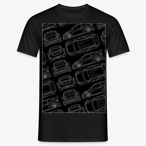 Fiesta RS WRC pattern - Camiseta hombre