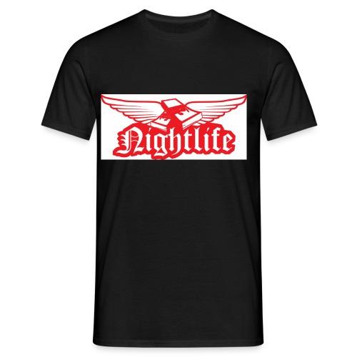 logo rot - Männer T-Shirt