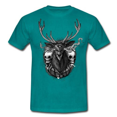 Deer - BONE SQL PRY - Men's T-Shirt