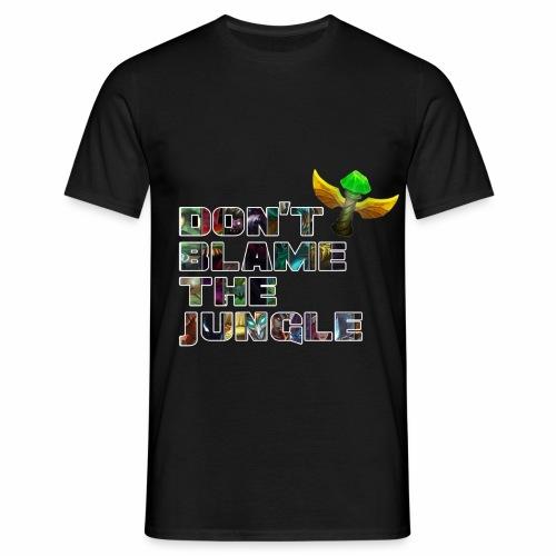 don't blame the jungle - Camiseta hombre