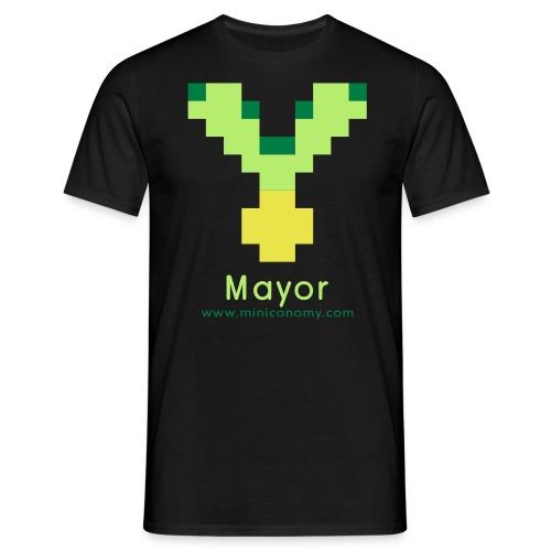 Miniconomy Mayor - Men's T-Shirt