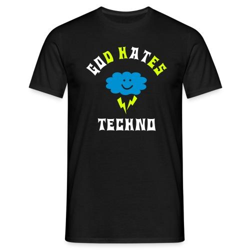 go at techno2 - Mannen T-shirt