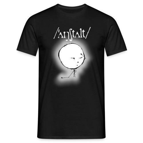 kreisling mit logo (weiß) - Männer T-Shirt