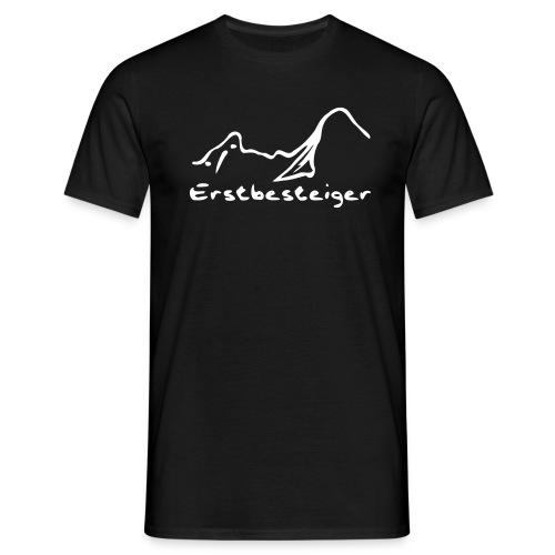 watze_erstbesteiger_klein - Männer T-Shirt