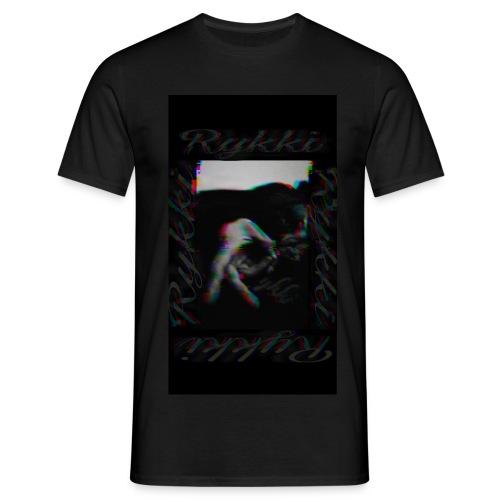 Rykki Grinch Logo Handsign R - Männer T-Shirt