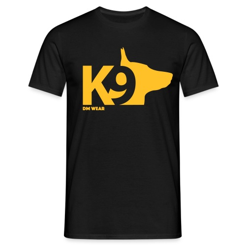 DM Wear K9 yellow big - Men's T-Shirt