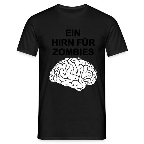 hirn - Männer T-Shirt