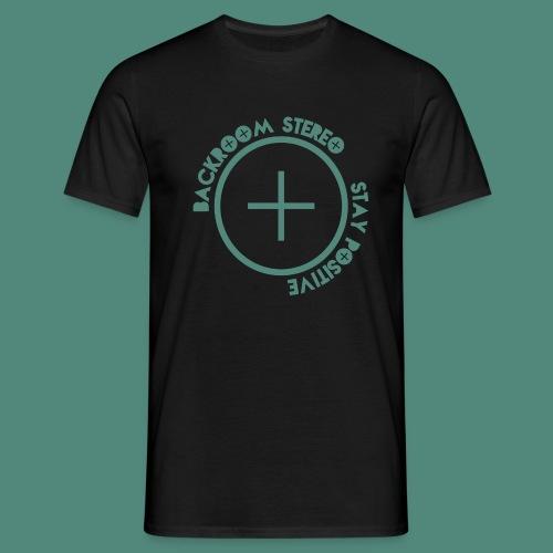 Stay Positive Logo Tee - Men's T-Shirt