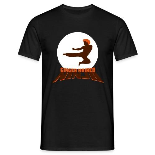 Ginger Haired Ninja - Men's T-Shirt