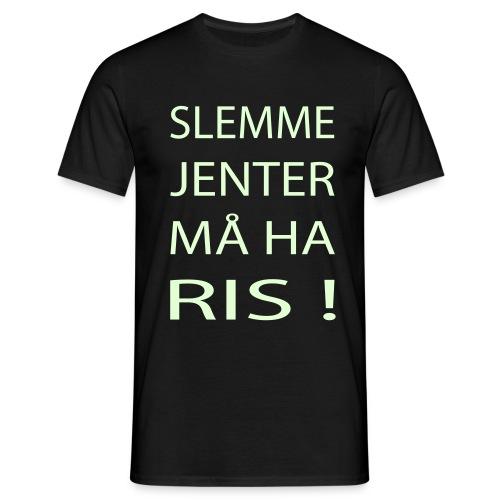 mjoffcom front - T-skjorte for menn