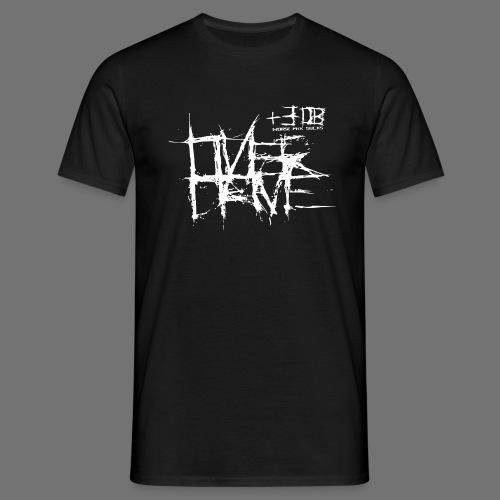 Overdrive - pahempaa mix perseestä (valkoinen) - Miesten t-paita