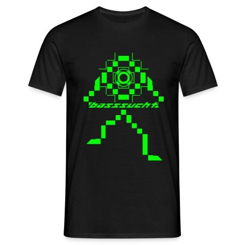 Basssucht - Männer T-Shirt